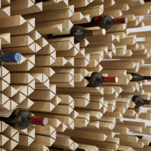 how to create gallery worthy storage for your wine collection