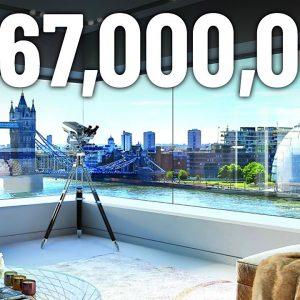 Inside $367,000,000 London's Penthouses