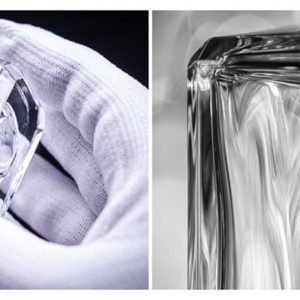 maison chanel and the pochet group create the first recycled high quality glass