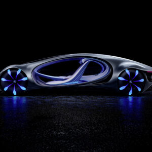 mercedes benz concept car is powered by thought