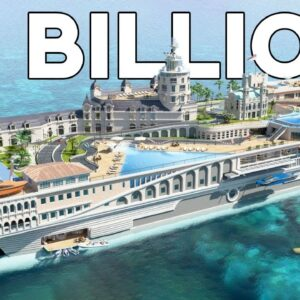 The Most Luxurious Yacht That Never Got Made