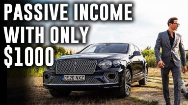 7 Ways How To Make Passive Income with $1000