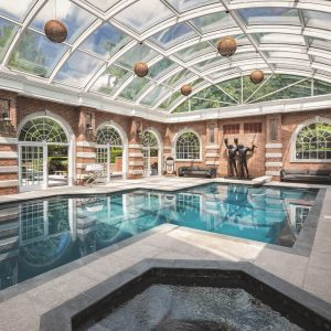 9 homes with indoor swimming pools