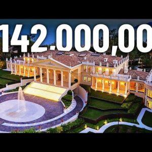 Inside a $142,000,000 Cannes Mega Mansion