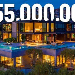 Inside a $55,000,000 Los Angeles Mega Mansion