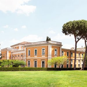 major in the art of living at the american academy in rome