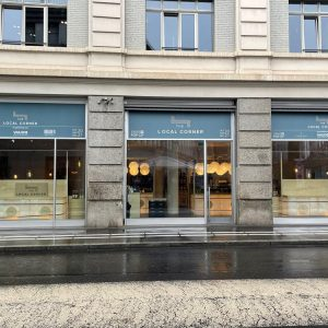 the local corner arrives in lausanne