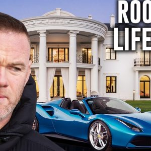Wayne Rooney Billionaire Lifestyle | Net Worth, Cars, House, Family
