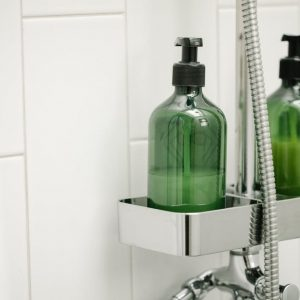 why should we stop using shower gels and replace them with natural soap bars